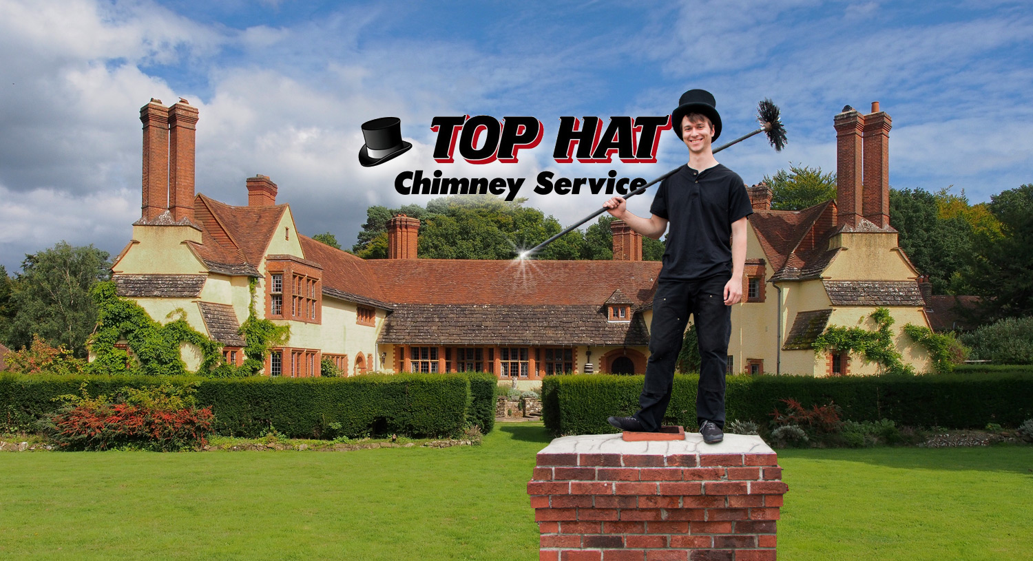 Top hat chimney service chimney inspections cleaning and repair top hat chimney service for inquiries please call 864 498 0020 teraionfo